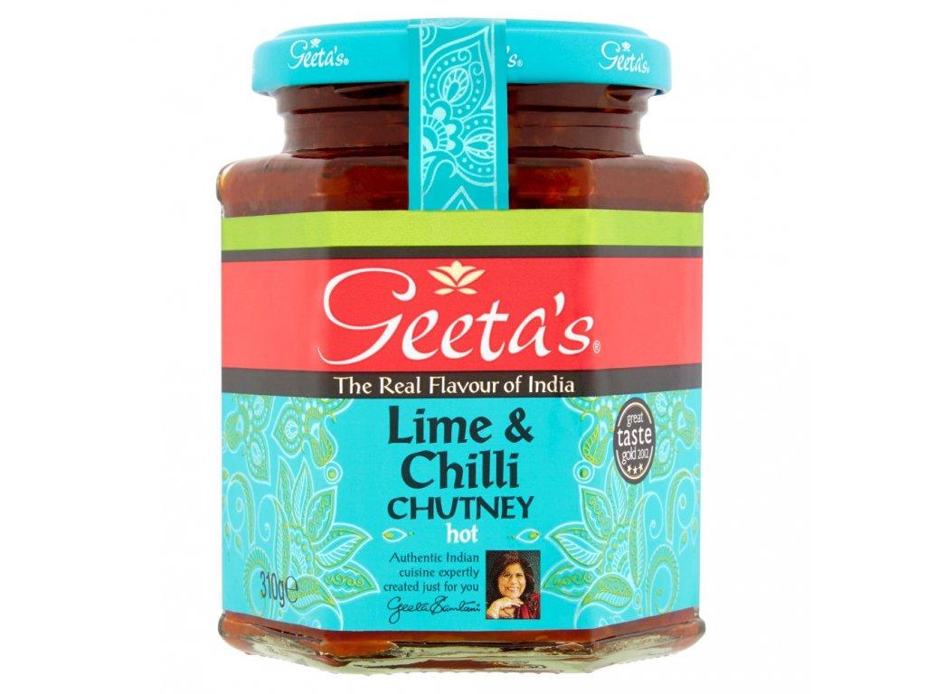 Geetas Limetka&Mango Chutney 310g