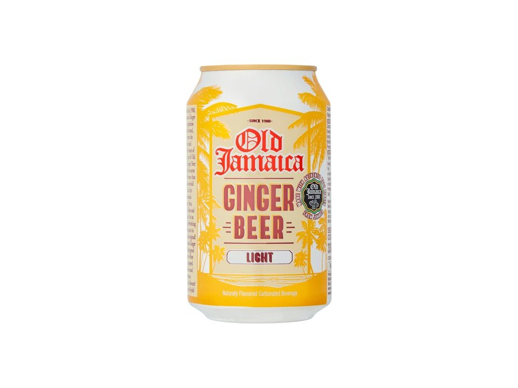 Old Jamaica Lehké  Zázvorové Pivo