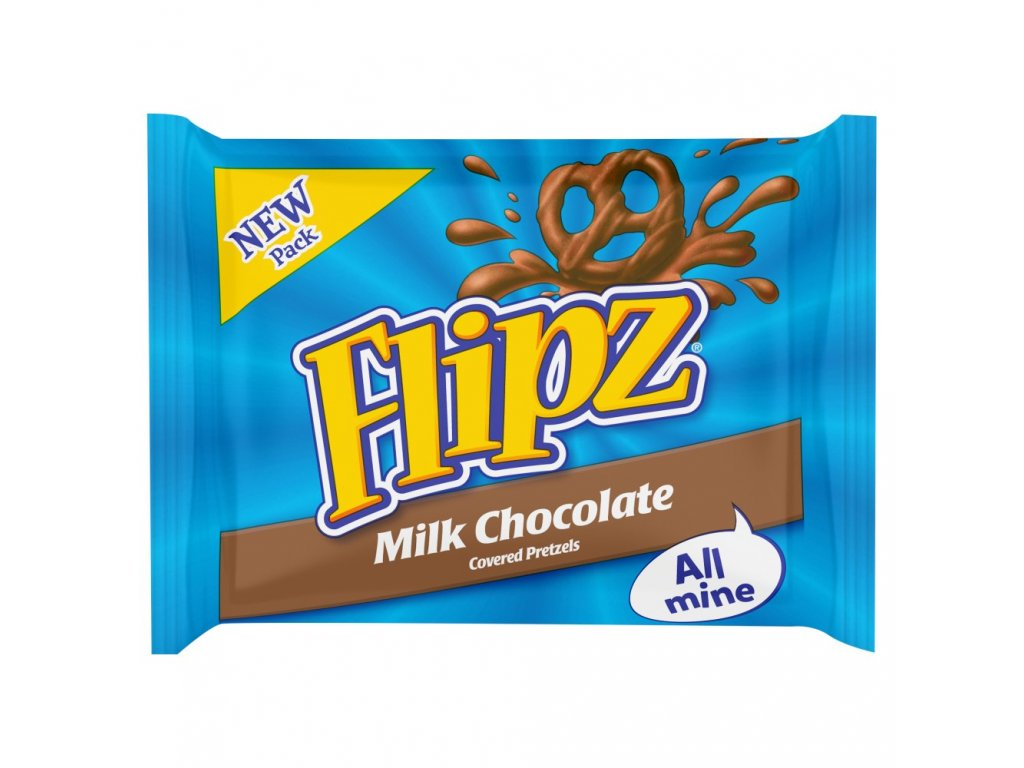 Flipz Milk Chocolate Handy Pack 37g