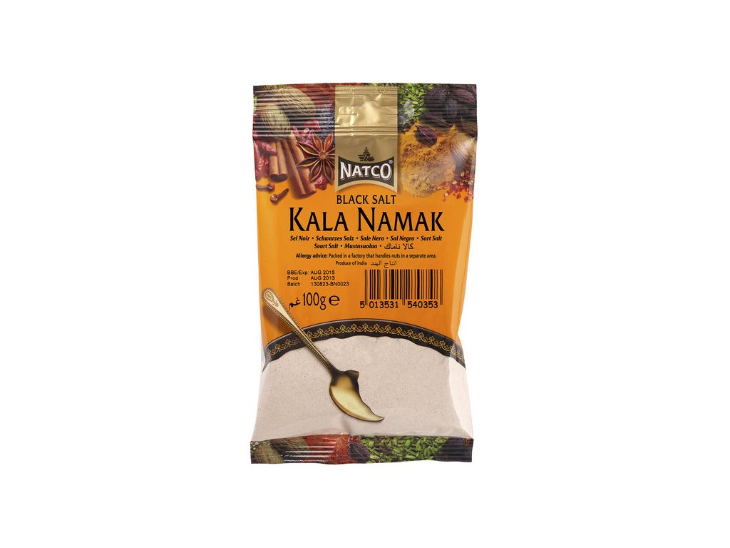 Natco Kala Namak černá sůl 100g