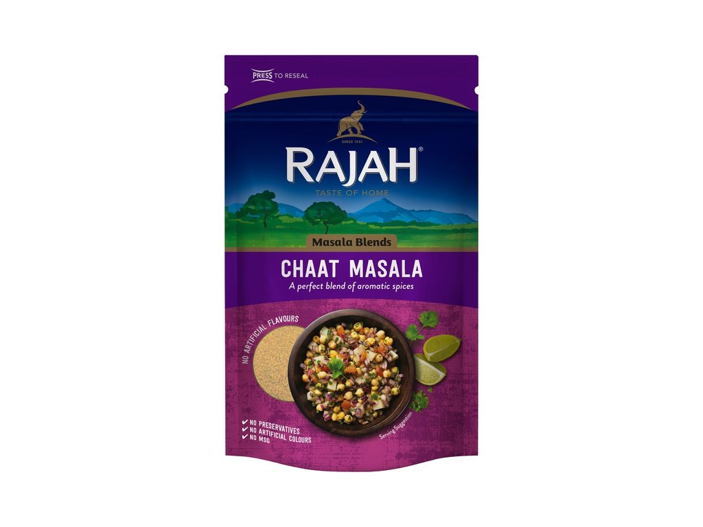 Rajah Směs na přípravu Chaat masaly 80g