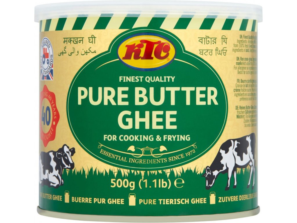 KCT Přepuštěné máslo ghí 500g