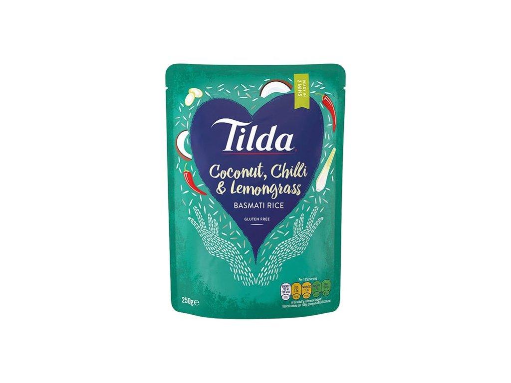 Tilda Coconut Chilli & Lemongrass Basmati Rýže 250g