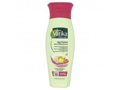 Vatika šampon na vlasy vaječný protein 200ml