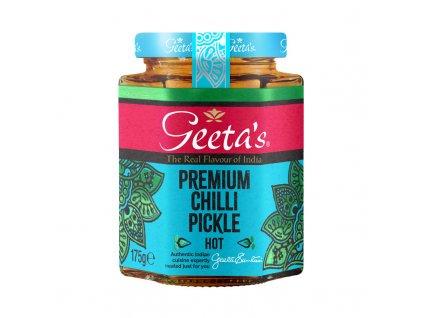 Geeta's Premiová Chilli Pickle 175g