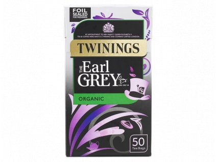 1 Earl Grey Organic 50 bags rs