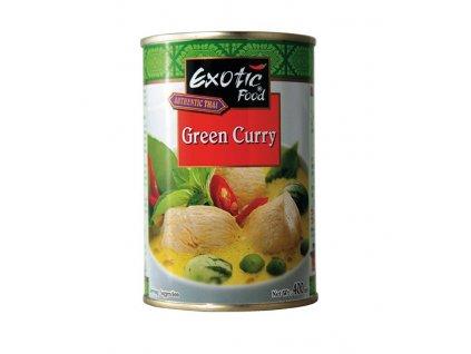 Exotic Foods zelená kari omáčka 400Ml