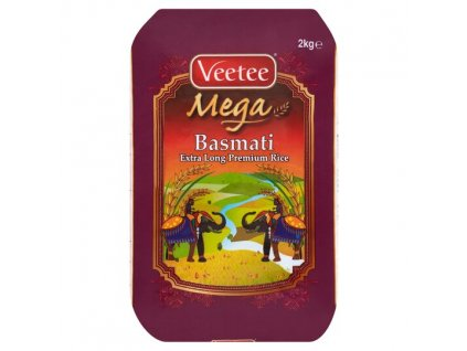 Veetee Prémiová Basmati Rýže 2Kg