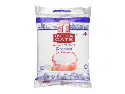 India Gate Prémiová Basmati Rýže 5Kg