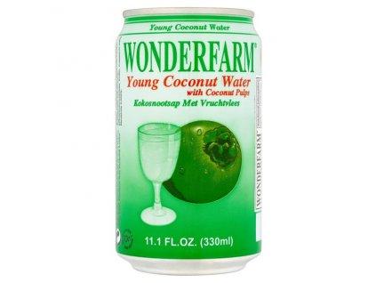 Wonderfarm Přírodní Kokosová Voda 310Ml