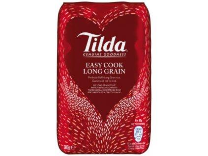 Tilda Předvařená Dlouhozrnná Rýže 500g