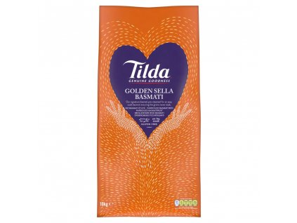 Tilda Zlatá Sella Basmati Rýže 10Kg