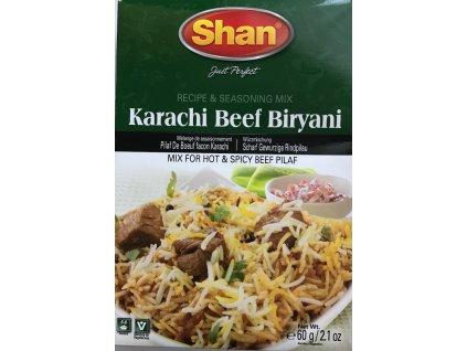 Shan Karachi Hovězí Biryani 50g