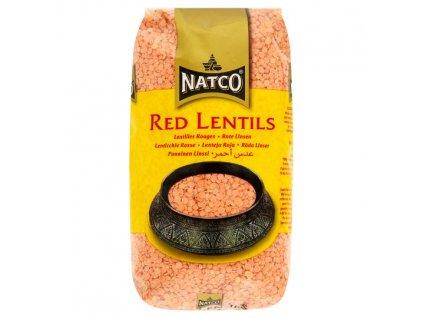 Natco Červená Čočka 1Kg