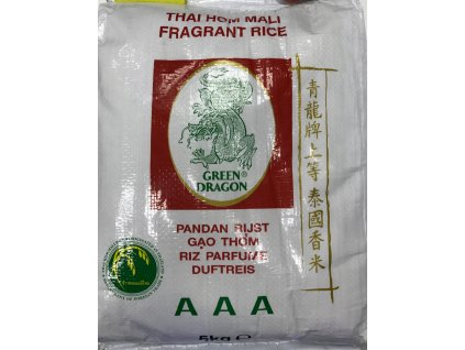 Thajská Jasmínová Rýže 5Kg