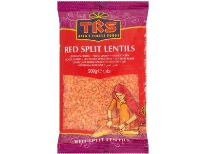 TRS červená čočka 500g