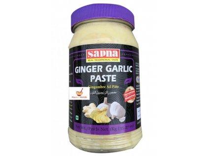 Sapna Pasta s příchutí česneku a zázvoru