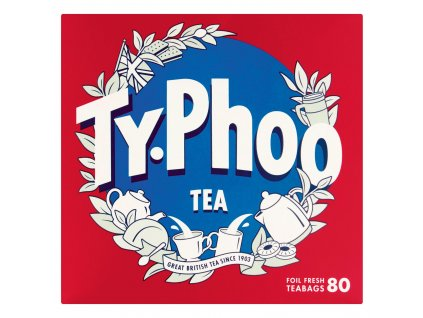 Typhoo 80pk Tea Bags 49303