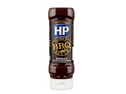 HP BBQ Honey Woodsmoke Omáčka 465g