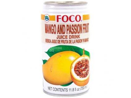 Foco Mango & Passion Fruit 350Ml