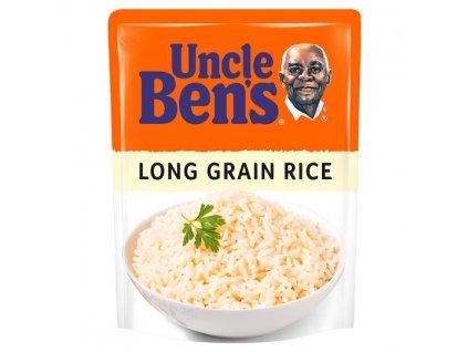 Uncle Ben's Stačí ohřát Dlouhozrnná rýže 250g