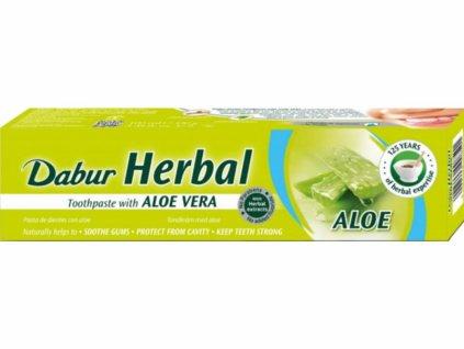 Dabur bylinná zubní pasta s Aloe Vera 100g
