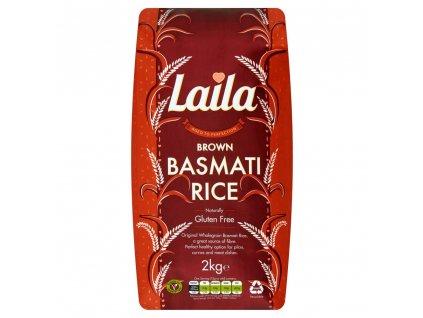 Laila Hnědá Basmati Rýže 2Kg