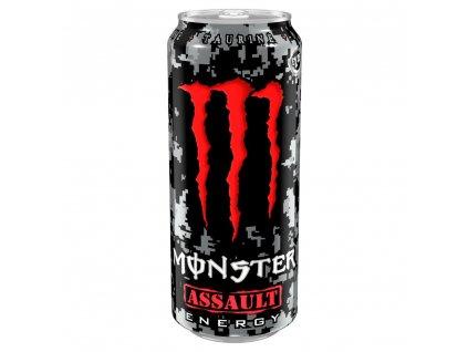 Monster Energy Assault sycený energetický nápoj 500ml