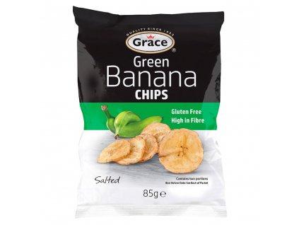 Grace Zelené Banánové Chipsy