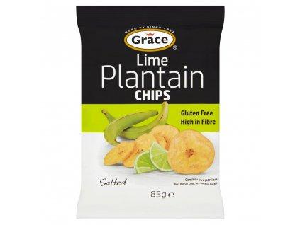 Grace Jitrocelové Chipsy s limetkou