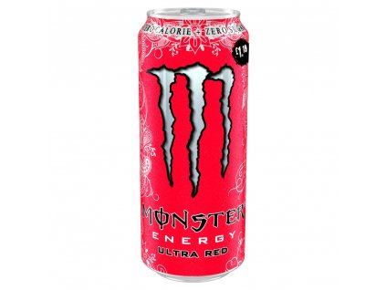 Monster Ultra Red Bez Cukru 500Ml