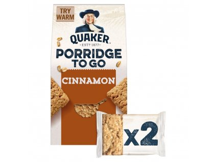 Quaker Porridge To Go Cinnamon