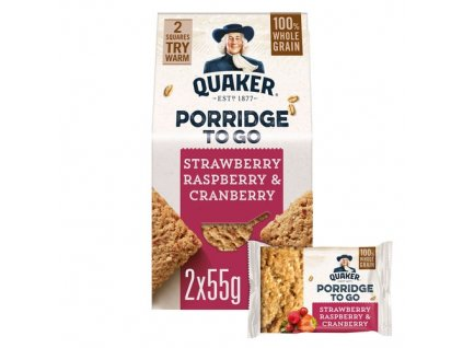 Quaker Porridge To Go Mixed Berries 110g