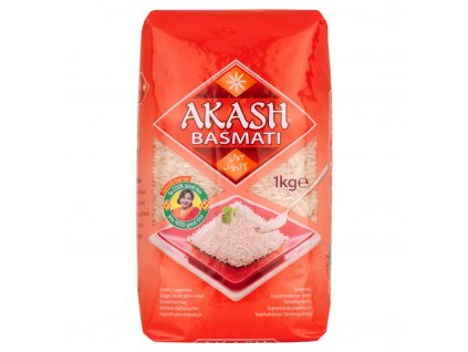 Akash Basmati Rýžě 1Kg
