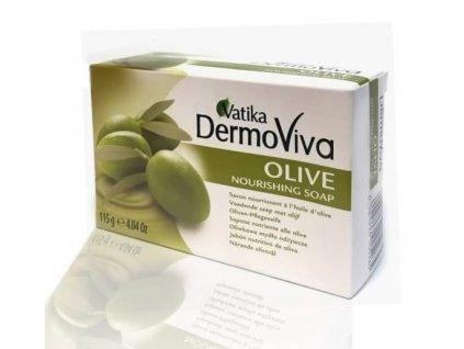 Vatika DermoViva Olivové Hydratační Mýdlo