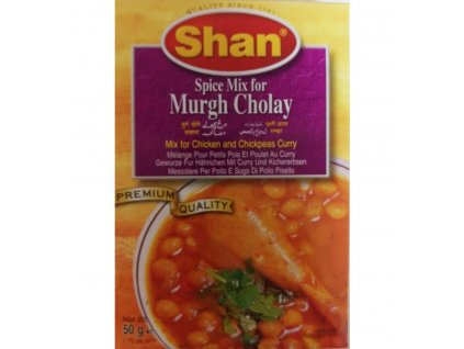 Shan Spice Mix for Murgh Cholay 50g