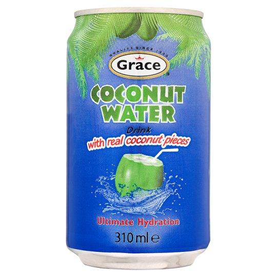 Grace Přírodní Kokosová Voda s kousky 310Ml