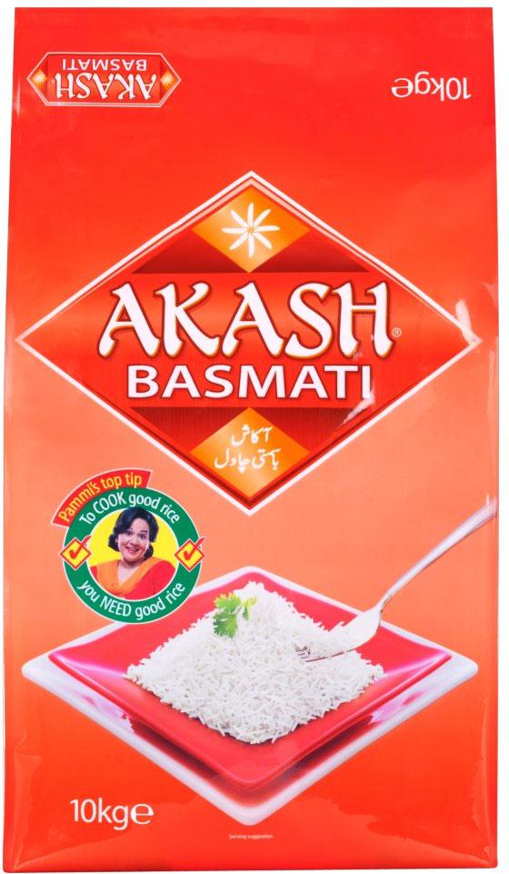 AKASH BASMATI Rýže 20Kg