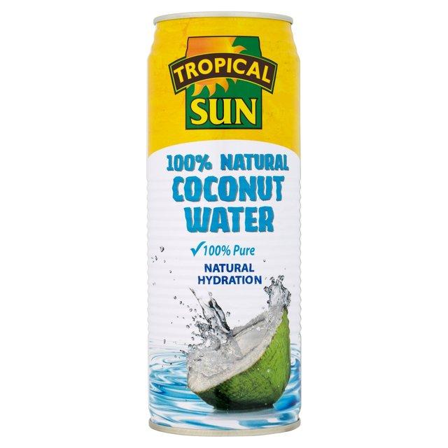 Tropical Sun Přírodní Kokosová Voda 520Ml