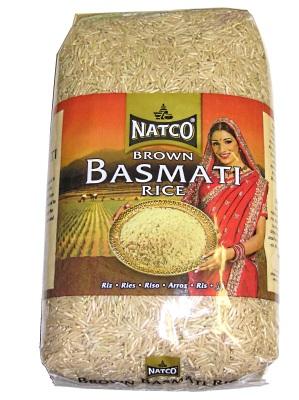 Natco Hnědá Basmati Rýže 2Kg