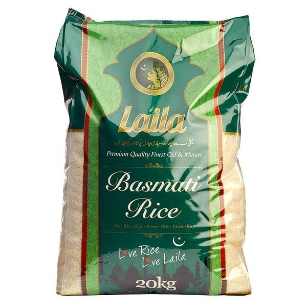 Laila Basmati Rýže 20KG