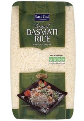 East End Královská Basmati Rýže 500g