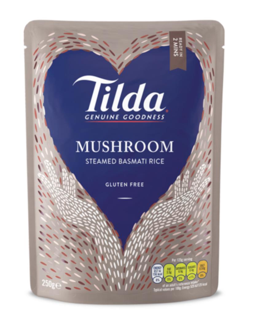 Tilda dušená basmati rýže s houbami 250g