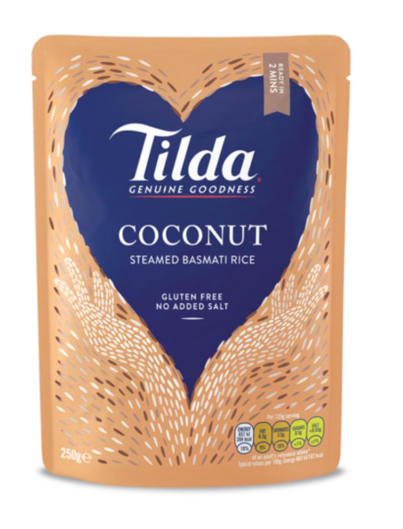 Tilda dušená basmati rýže s kokosem 250g