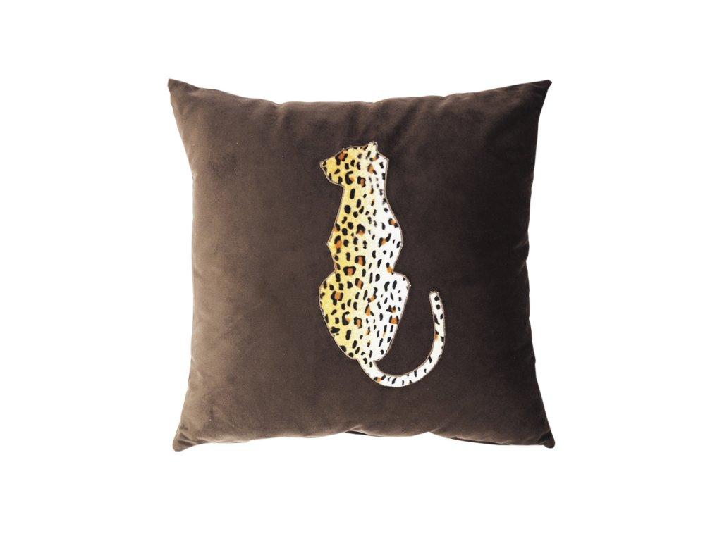 Polštář leopard