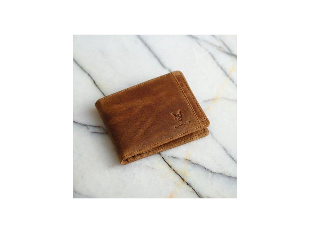 Kožená peněženka klasik 2