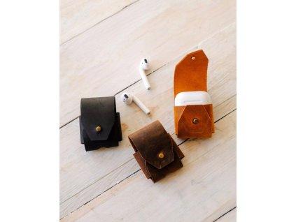 Airpods kožené pouzdro 1