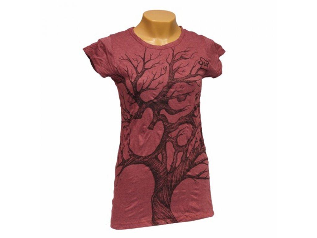 Tričko dámské SURE Tree Ohm S bílá