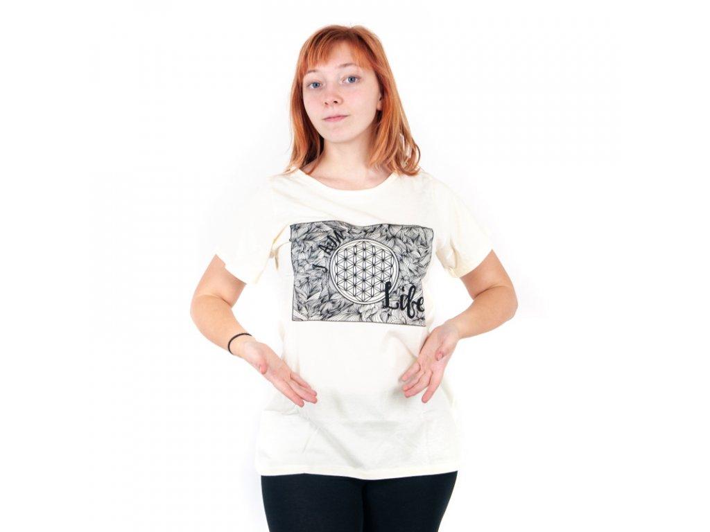 Tričko dámské LIFE L černá