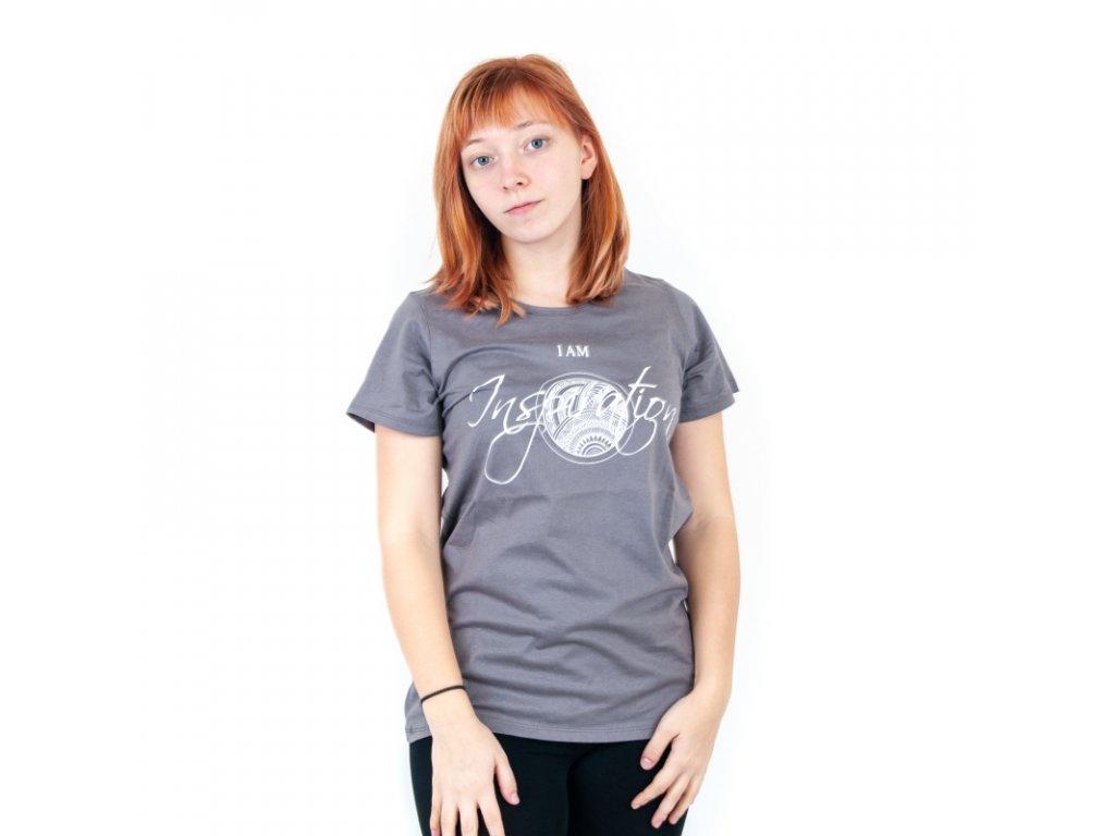 Tričko dámské INSPIRATION L modrá